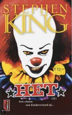 Beste horror boek ooit: Het / It van Stephen King